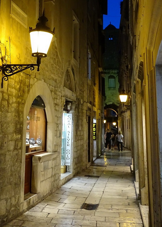 Diocletian's palace street